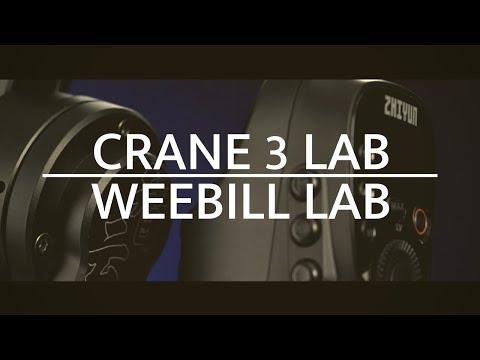 Zhiyun Weebill Lab camera stabilizer