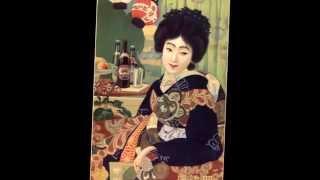 Japanese Art Deco Beauties Advertizing Japan Posters.