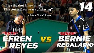 """(14) Bernie """"Benok"""" Regalario Vs Efren """"Bata"""" Reyes (Valley 2,Paranaque City)"""