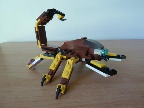 Vidéo LEGO Creator 31004 : Le rapace