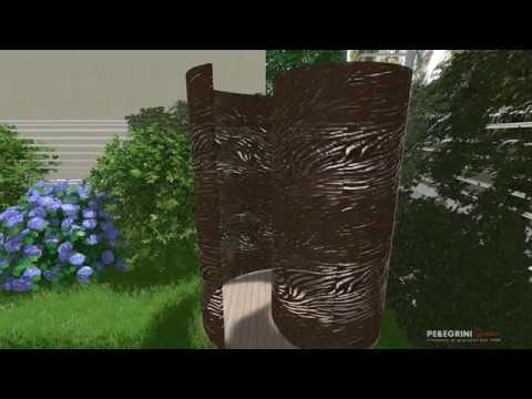Spiralshower: il design si fa doccia da esterno.