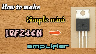 mosfet audio amplifier schematic - Free video search site