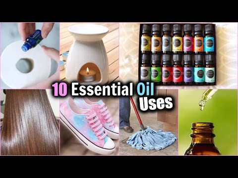 Video 10 EVERYDAY USES OF ESSENTIAL OILS! │HOW TO USE ESSENTIAL OILS │ Essential Oil DIY's