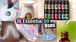 10 EVERYDAY USES OF ESSENTIAL OILS! │HOW TO USE ESSENTIAL OILS │ Essential Oil DIYs
