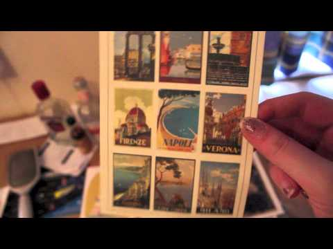 Video SOUVENIR HAUL! (Florence/Venice/Edinburgh/London)