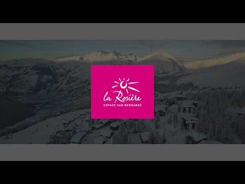 Sur les pistes de ski de l'Espace San Bernardo