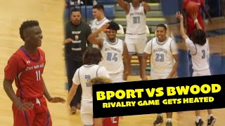 RIVALRY GAME BRAZOSPORT VS BRAZOSWOOD GETS HEATED!!!