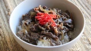 Gyudon (Beef Bowl) – Japanese Cooking 101