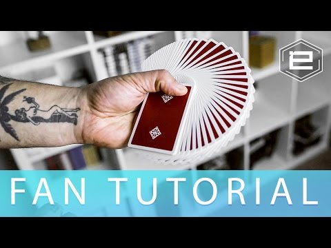 How to Fan Cards like a magician