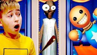 Антистресc против Гренни! Grenny vs Buddy Дети сами снимают видео letsplay Kick the Buddy Мы играем