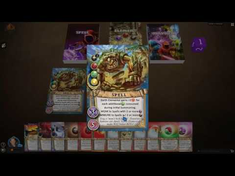 Learn to Play Magicka Mayhem Card Game: Tutorial Video #4 - Summoning Spells
