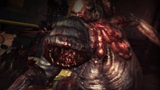 "Resident Evil Revelations Walkthrough -  ""Comms Officer"" Boss Fight {HD, PS3}"