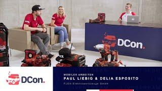 Mobiles Arbeiten - FLEX Elektrowerkzeuge | DCon