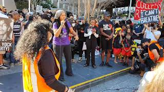 Solidarity is not just a hashtag! Black Lives Matter protest, Brisbane – repping African Americans!