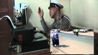 VIDEO POLISI JALANAN  SUARA EMAS  POLRES CIMAHI