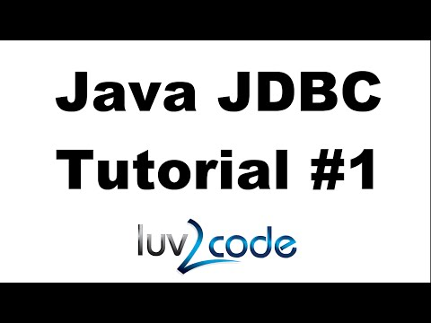Java JDBC Tutorial - Part 1: Connect to MySQL database with Java