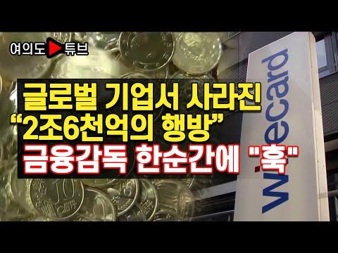 """글로벌 기업서 사라진 """"2조6천억의 행방"""" 금융감독 한순간에 """"훅"""""""