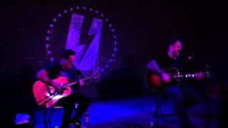 Face to Face playing Maybe Next Time (Acoustic) live at U Hall June 23, 2012