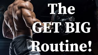 The GET BIG Routine! (Doing LESS and Growing MORE!!!)