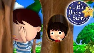 Where Did You Go?! | Hide and Seek | Nursery Rhymes | Original Song By LittleBabyBum!