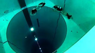 The Worlds Deepest Swimming Pool