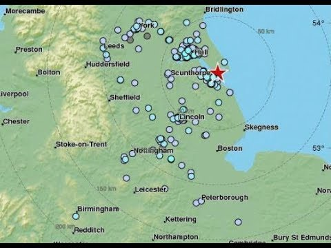 Lincolnshire earthquake – Houses and beds shake as large 3 9 magnitude quake rocks eastern