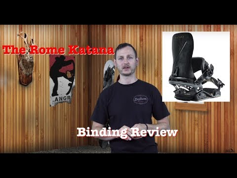 The 2019 Rome Katana Snowboard Binding Review
