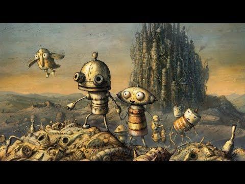 Machinarium – Game Movie (All Cutscenes / Story Walkthrough) 1080p HD