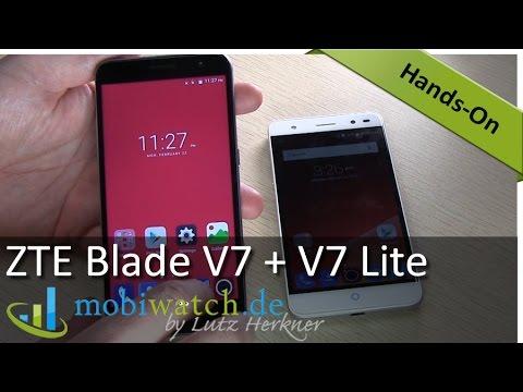 ZTE Blade V7 + V7 Lite: Günstige Alu-Handys mit Android 6