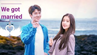We got married SEHUN×IRENEwith fake sub indo