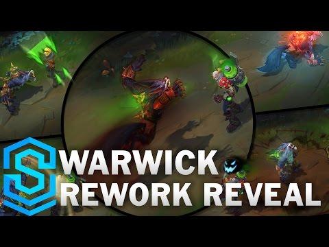 Warwick Reveal (2017 REWORK!) - The Uncaged Wrath of Zaun | New Reworked Champion