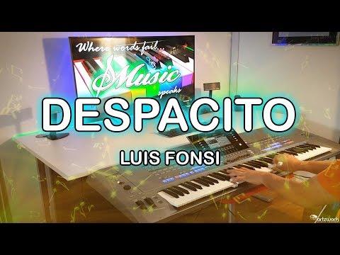 Despacito Instrumental Cover on Yamaha Tyros 5 by #artzkie