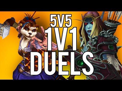 5V5 1V1 DUELS! LETS GO BOYS! 100K SUB STREAM! - WoW: Battle For Azeroth 8.2 (Livestream)