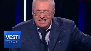 """Shut Up You F***ing Whore!"" Zhirinovsky Drops Torrent of Abuse at Liberal Candidate Ksenia Sobchak"
