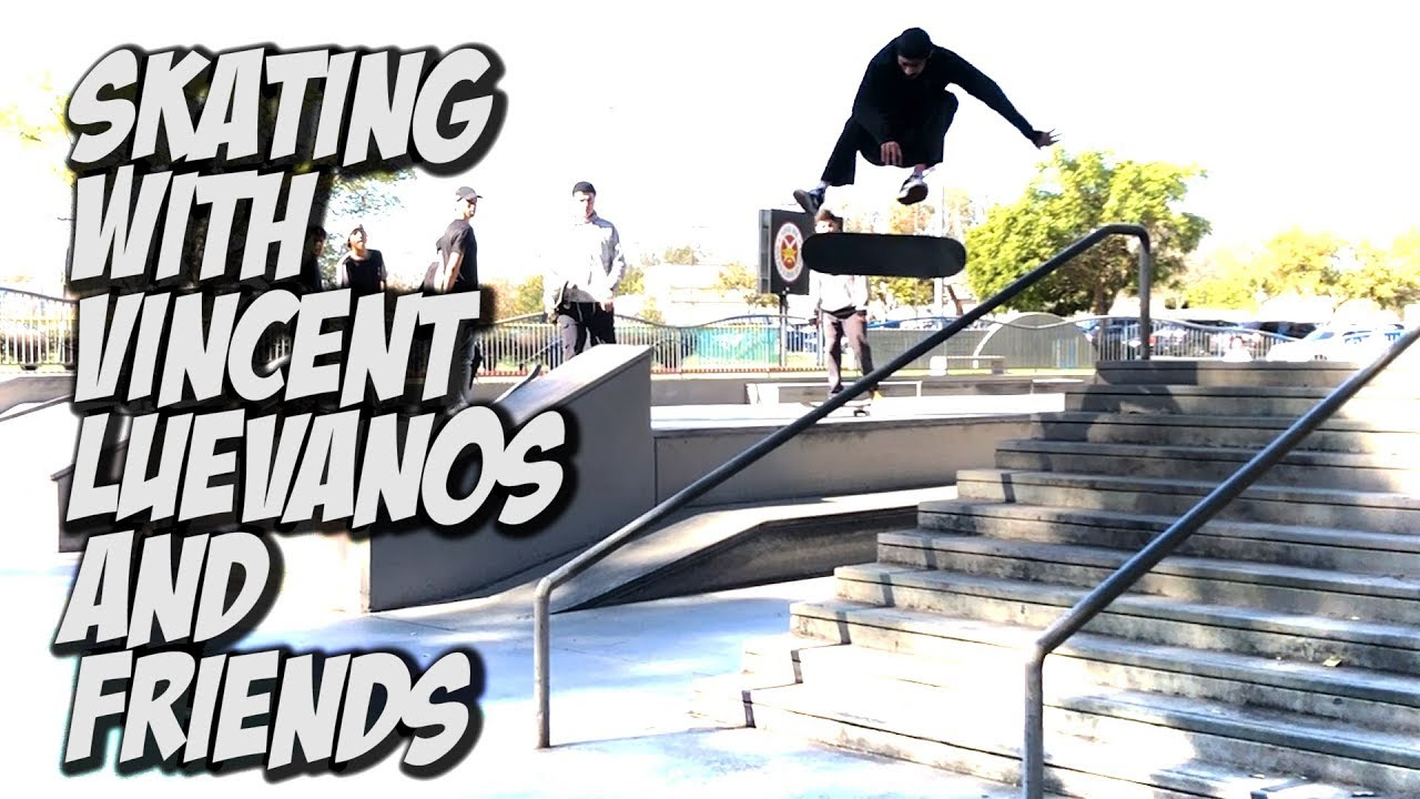 SKATING WITH VINCENT LUEVANOS AND THE IDOLS CREW !!! - NKA VIDS - Nka Vids Skateboarding