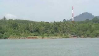 preview picture of video 'departure from Laem Ngop towards Ko Chang'
