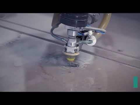 [VIDEO] M200 Waterjet cutting kitchen benchtops