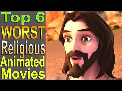 Top 6 Worst Religious Animated Movies