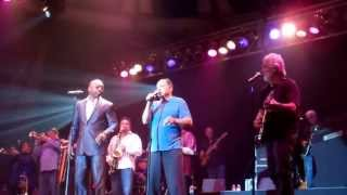 TOWER OF POWER WITH CHEECH & CHONG DOING BASKETBALL JONES 5-17-13 UP IN SMOKE TOUR!!!