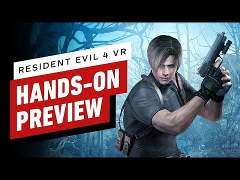 Hands-On Preview de Resident Evil 4 VR