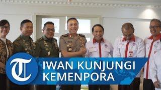 Hari Pertama Kerja sebagai Ketua PSSI, Mochamad Iriawan Datangi Kemenpora
