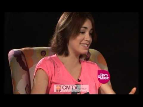 Lali Espósito video Entrevista - Glam & Music  2012