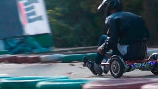 Гонки на гироскутерах / Hoverboard racing