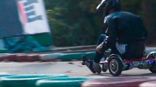 Гонки на гироскутерах / Hoverboard racing