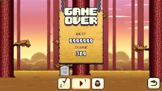 I GOT 999,999 SCORE! (Timberman SinglePlayer)