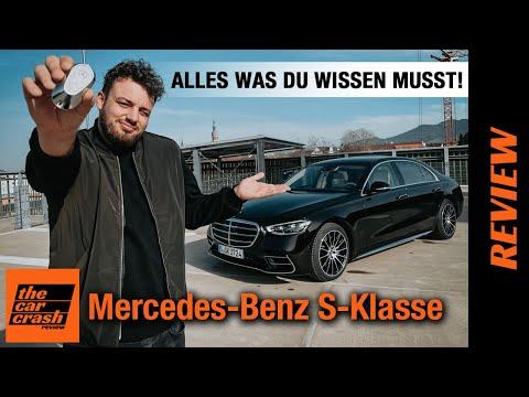 Mercedes-Benz S-Klasse (2021) ALLES was DU zum S500 wissen MUSST! Fahrbericht | Review | Test | W223