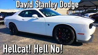 We Almost Bought a Hellcat! David Stanley Dodge Ripoff Midwest City