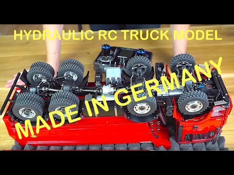RC TRUCK ACTION REVIEW – MAN TGS 8×8 DUMP TRUCK – ScaleART