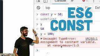 16.2: const - Topics of JavaScript/ES6