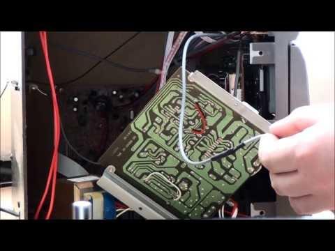 AUX Anschluss an einer Stereoanlage hinzugefügt Alte Stereoanlage wieder fit machen